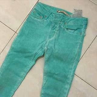 Jeans Ori Zara Ice Blue,beli Kekecilan Ya,size 28