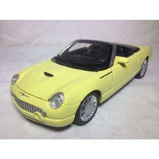 Ford Thunderbird Convertible Car Model - Scale 1:25 - Display Car