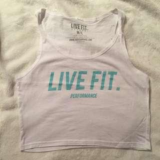 Live Fit Apparel Lvft Crop Top