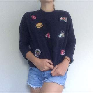 Patched Jumper
