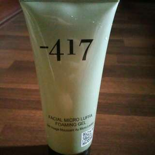 -417 Facial micro Luffy Foaming Gel