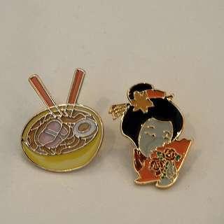 Japanese Pins