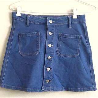 Supre Denim Mini Skirt
