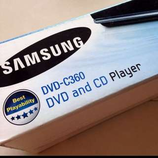Not Working Samsung DVD player DVD-C360