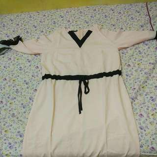 Stratto Pink Long Dress