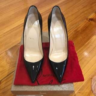 Christian Louboutin So Kate Patent Heels Black