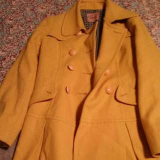 Mustard Winter Coat #under20