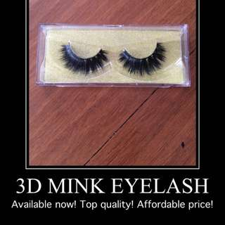 Genuine 3D Mink Lashes Coming Soon!
