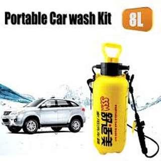 Portable Car Wash Kit 8 Litres