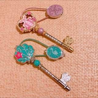 日本迪士尼 正版 刻字 鑰匙圈 鑰匙 吊飾 客製