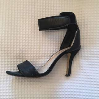 Black Wildpair Heels Size 37
