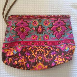 Colourful Canvas Makeup Bag