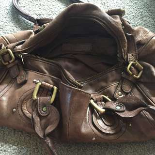 Leather Witchery handbag