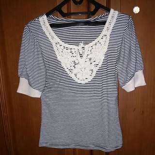 Blouse CHIC Simple Size Small... Bahan Handuk Ademmm