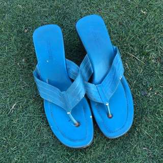 Rusty Lopez Bright Blue Sandals