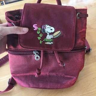 Snoopy Mini Backpack
