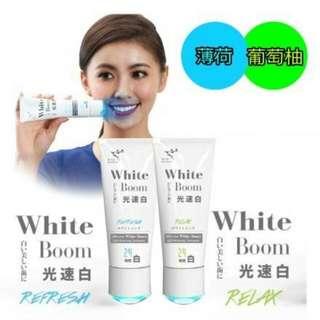 日本萊思 Li-ZEY 光速白 牙膏 薄荷  (附美齒燈) 100g