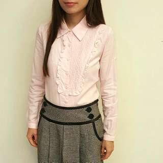 MA.TSU.MI 淺粉襯衫