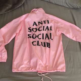 Antisocial Social Club ASSC Coach Pink Medium