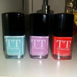 T&T Nail Polish x3