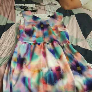 Whistle Multicoloured Dress