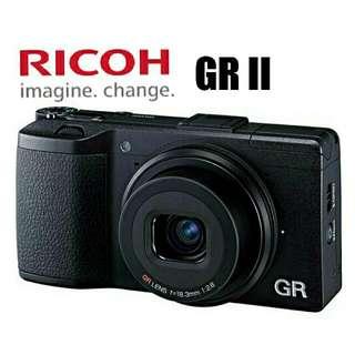 Ricoh GR II Digital Camera/ Free 32gb card - One Year Warranty