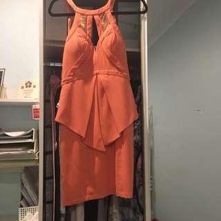 Bariano Backless Dress