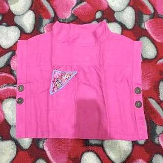 Pink batwing