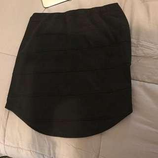 Black Skirt Size Ten
