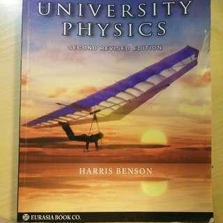 大學普物 Harris Benson  University Physics Second Revised Edition