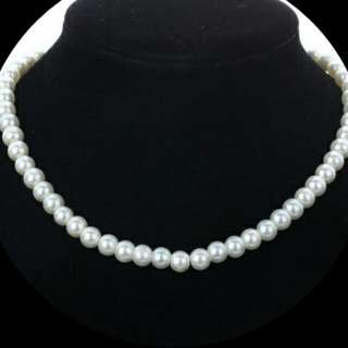 😗   Simple Elegance On A Budget Glass Pearl Necklace