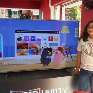 NEW TV LG LED 60 Inch UHD 4K