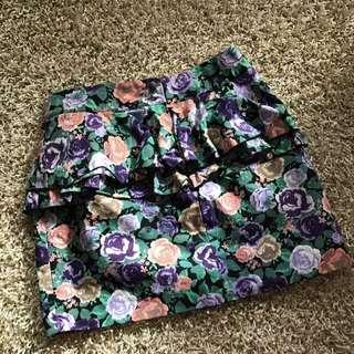 Feminime H&M Floral Skirt