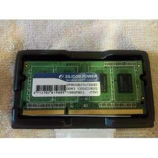 廣穎 2G DDR3-1333 NB記憶體 雙面顆粒 適用ACER 5750G