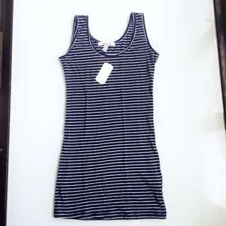 Forever 21 Stripes Bodycon Dress