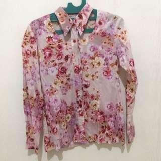 Kemeja Floral Limited Design