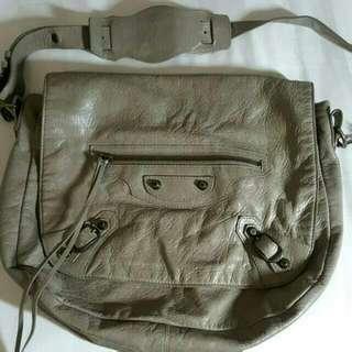 Balenciaga Folk Messenger Bag