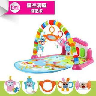 KO- babies/infant bed w/toys w/music