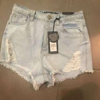 Factories High Waisted Shorts