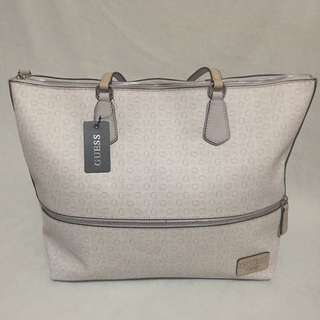 Guess Willow Brook Taupe Tote Bag