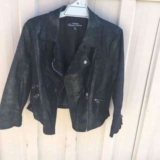 Leather Jacket - Size 12