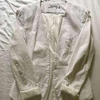 Milk & Honey White Jacket