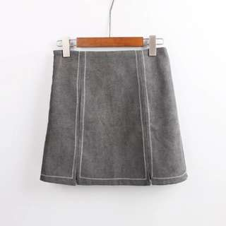 Statementmuse Trace Slit Skirt