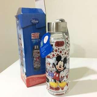 迪士尼米奇玻璃隨手瓶