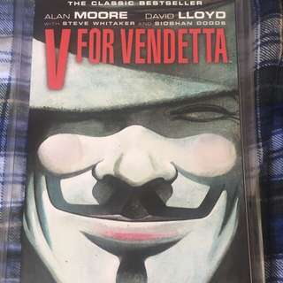 BRANDNEW!!! V For Vendetta Comic Book