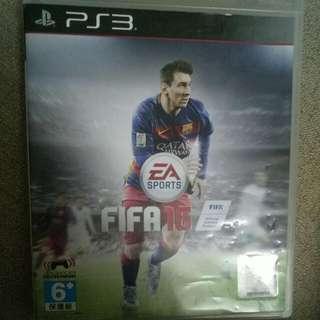 PS3 FIFA 16 CD