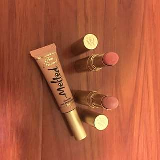 Too Faced Nude Lipsticks