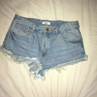 Forever 21 Denim Cut-Off Shorts