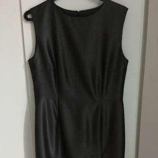 Dress With Waist-line Jacket