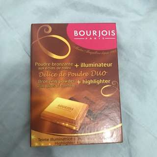 BOURJOIS bronzing x highlighting Duo